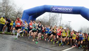 Vitality Reading Half Marathon