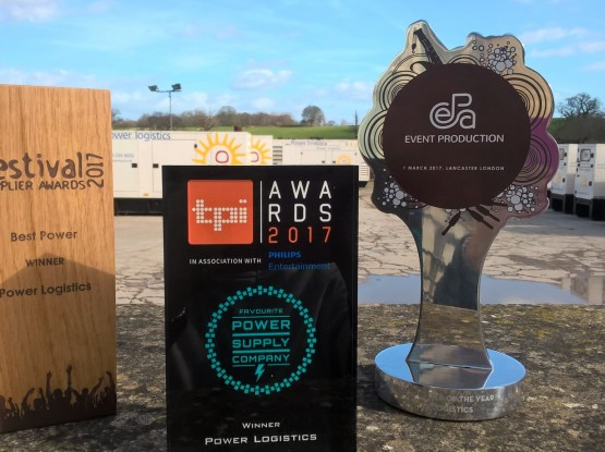 The trio of awards all at home at Power Logistics' HQ in Chippenham