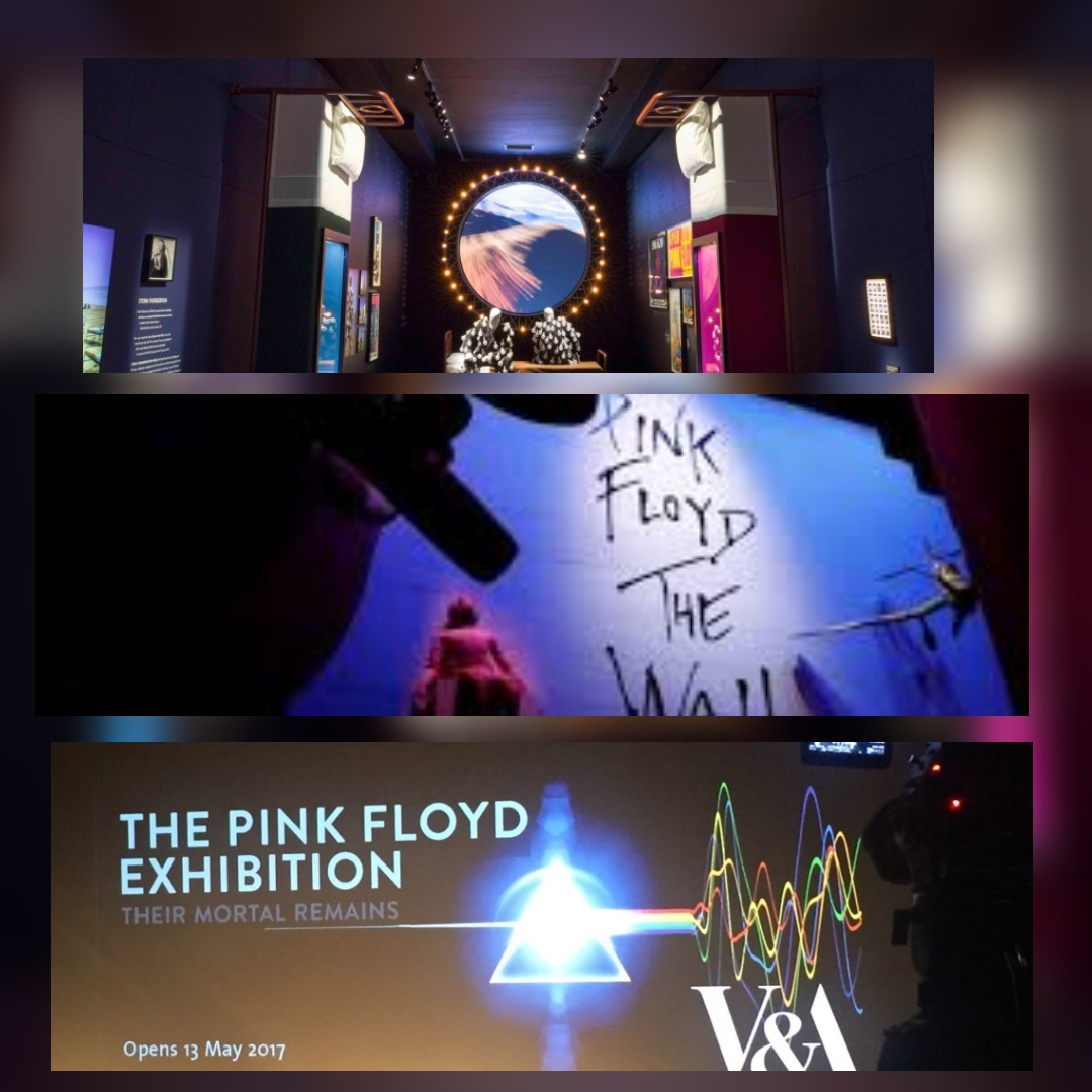 Pink Floyd: Their Mortal Remains exhibition