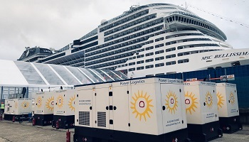MSC Bellisimo naming ceremony