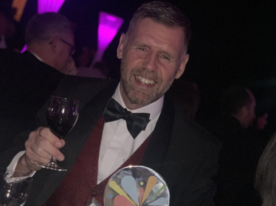 Mike Whitehouse receives Event Production Award 2020